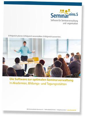 Broschüre Software SEMINAR Eins.5